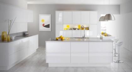 Beyaz Mutfak Dolabı